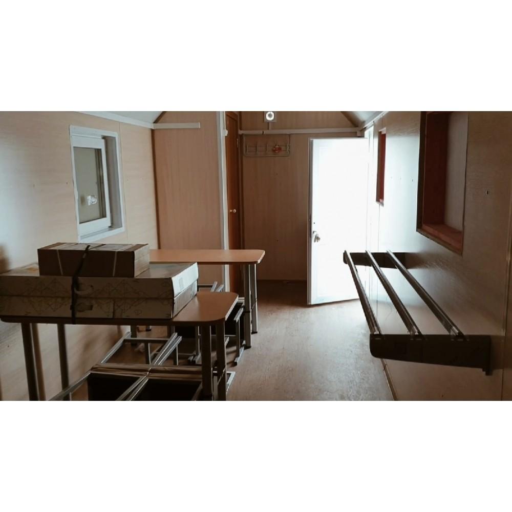 Вагон-дом столовая/кухня